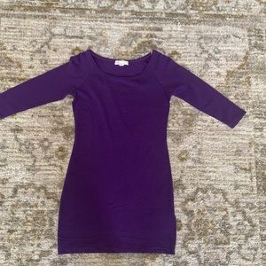 Forever 21 purple dress, size S